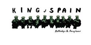 King Of Spain - Battleships & Aeroplanes