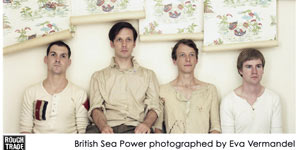 British Sea Power - Nottingham Rescue Rooms Thursday 10th February 2011 Live Review
