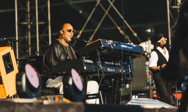 Calling Festival - Stevie Wonder, London, Jun 29 2014