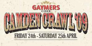 Camden Crawl - Friday 24th & Saturday 25th April 2009 Live Review