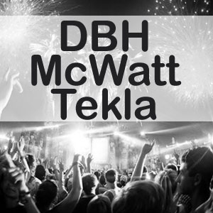 DBH, McWatt, Tekla - Manchester Briton's Protection Friday 11th January Live Review