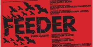 Feeder - Goldie Looking Chain, Empress Ballroom, Blackpool