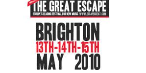 The Great Escape - Brighton. 13-15 May 2010