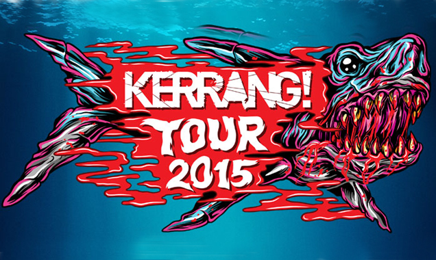 Kerrang Tour Live 2015 - University of East Anglia LCR, Norwich - February 6th Live Review