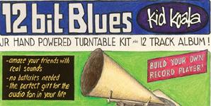 Kid Koala 12 Bit Blues Album