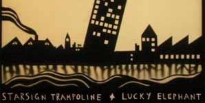 Lucky Elephant - Star Sign Trampoline