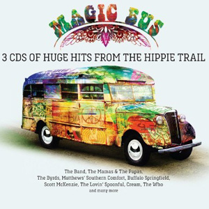 Various Artists - Magic Bus: 3CDs Of Huge Hits From The Hippie Trail Album Review Album Review