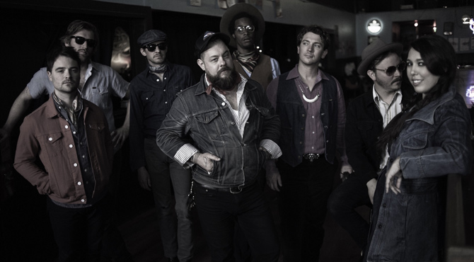Nathaniel Rateliff & the Night Sweats - Patterns, Brighton - October 16th 2015 Live Review