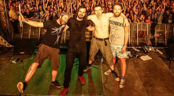 Random Hand - Leeds, Brudenell Social Club - September 4th 2015 Live Review