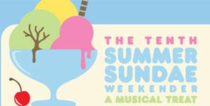 Summer Sundae - De Montfort Hall, Leicester