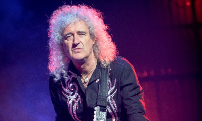 Brian May performing with Queen in Toronto, 2017 / Photo Credit: Igor Vidyashev/Zuma Press/PA Images