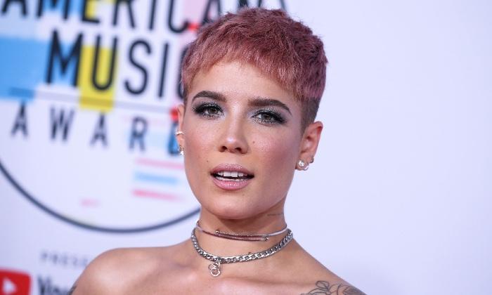 Halsey at the 2018 American Music Awards / Photo credit: Image Press Agency/SIPA USA/PA Images