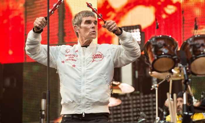 Ian Brown performing live in Glasgow (2017) / Photo credit: Stuart Westwood/Rmv/Zuma Press/PA Images