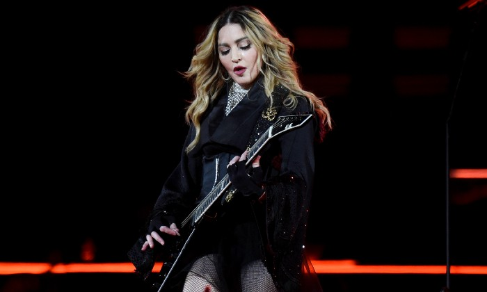 Madonna performing live in 2016 / Photo credit: Ron Elkman/SIPA USA/PA Images