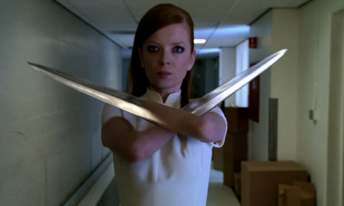 Shirley Manson in Terminator: The Sarah Connor Chronicles / Photo Credit: Warner Bros. Television