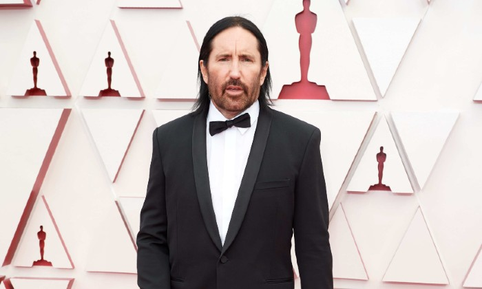 Trent Reznor at the 2021 Oscars / Photo Credit: SIPA USA/PA Images