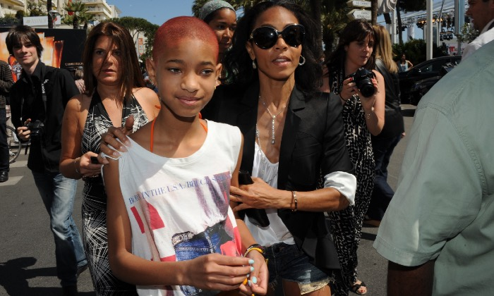 Willow Smith and Jada Pinkett Smith at Cannes Film Festival 2012 / Photo credit: ABACA/PA Images