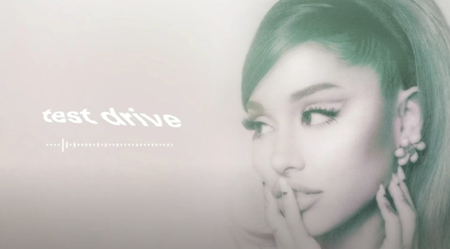 Ariana Grande - test drive Audio Video