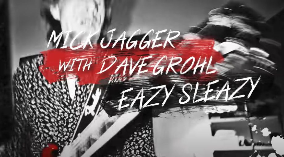 Mick Jagger with Dave Grohl - Eazy Sleazy Lyric Video Video