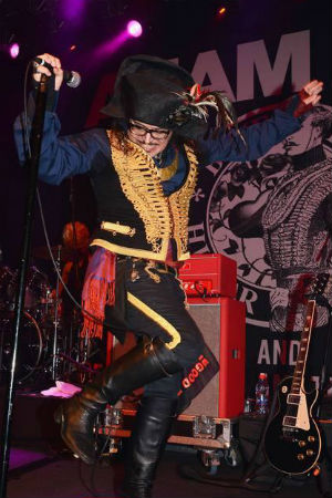 Adam Ant Performs 'Dirk Wears White Sox' For One Night Only At Hammersmith Apollo On 19th April 2014