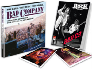 Bad Company 40th Anniversary Documentary Collector's Edition On Sale 3 March 2014