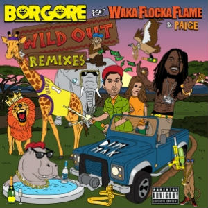 Borgore To Release 'Wild Out Remixes' EP On January 28 2014