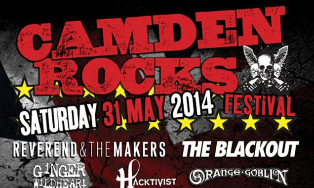 Camden Rocks 2014 Announces Reverend And The Makers On The Line-up Plus Many More