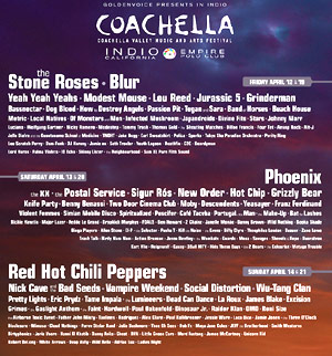 Coachella 2013 Lineup Announcement