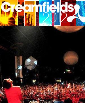 Creamfields 2012 Line-up Announced
