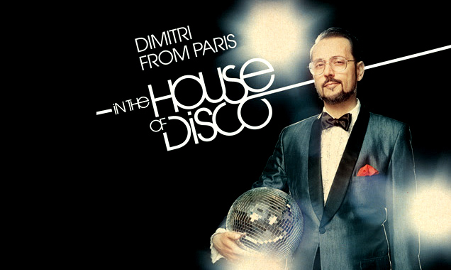 Dimitri From Paris In The House Of Disco Is Out 15th June 2014 In The Uk On Defected Records
