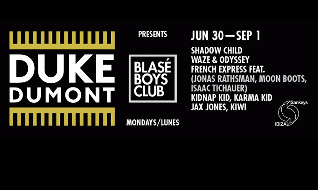 Duke Dumont Streams 'To Blase Boys Tapes # Vol. 1'  Exclusive Mix Featuring 5 New Duke Dumont Tracks [Listen]