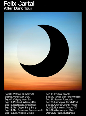 Felix Cartal Announces After Dark North American Tour Launching September 2013