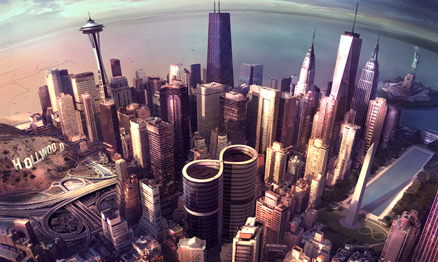 Foo Fighters Announce 'Sonic Highways : The Album' Eighth Album Out November 10th 2014 Worldwide