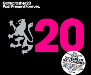 'Gatecrasher 20 - Past Present Forever' 3cds Anthems Celebrating 20 Years Of Gatecrasher Due Out July 1st 2013