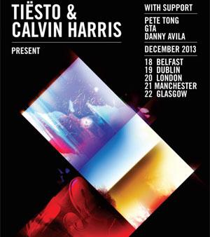 Gta Join Tiesto & Calvin Harris On 'Greater Than' December 2013 Uk Tour