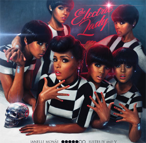 Janelle Monae Announces Cover Art And Track-Listing For New Album 'The Electric Lady'