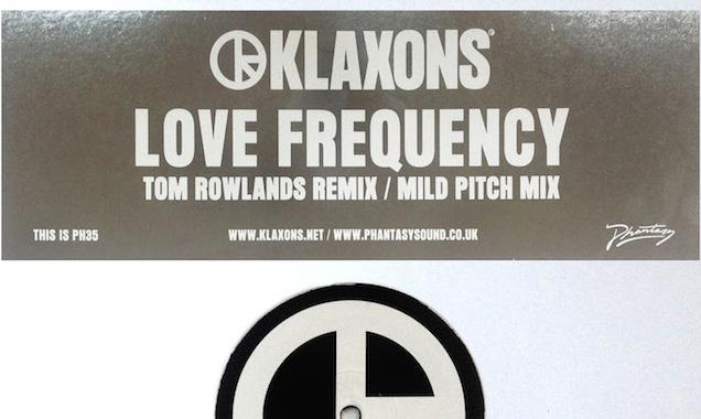 Klaxons Stream 'Love Frequency' (Tom Rowlands Remix) [Listen]