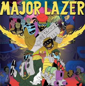 Major Lazer Releases Single 'Bubble Butt (Remix)' Ft. Bruno Mars, 2 Chainz, Tyga And Mystic On July 29th 2013