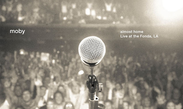 Moby Announces Details Of Live Dvd 'Almost Home - Live At The Fonda, La' Out On 3rd March 2014