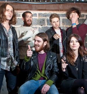 Pulled Apart By Horses & Blood Red Shoes release split covers 7