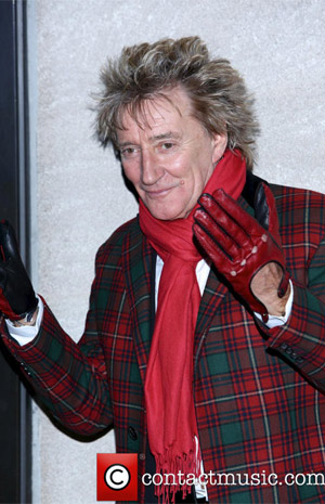Rod Stewart Returns To The Colosseum at Caesars Palace In Las Vegas In The Summer Of 2013
