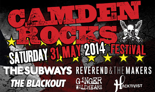 The Subways Confirmed To Join Camden Rocks Festival 2014 Line-up Plus Many More Announced