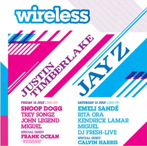 3rd Day Of Yahoo! Wireless Festival 2013 Announced! Legends Of The Summer Feat Justin Timberlake And Jay Z