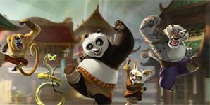Kung Fu Panda, Trailer