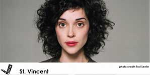 St. Vincent, Jesus Saves, I Spend Video
