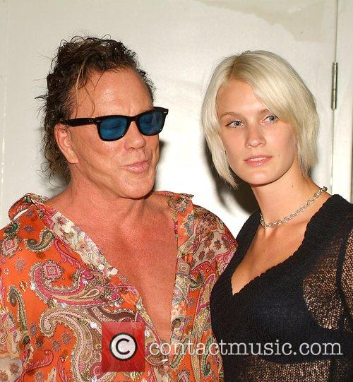 Mickey Rourke and Guest