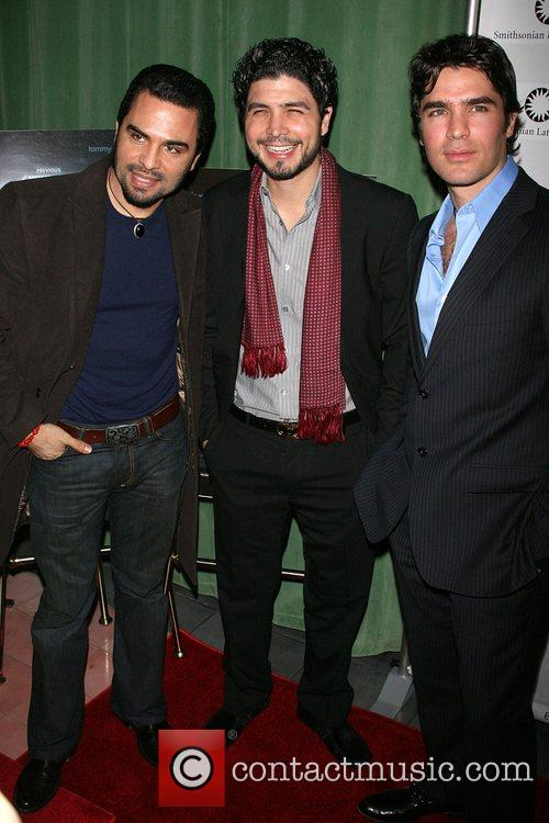 Manny Perez, Alejandro Monteverde and Eduardo Verastegui
