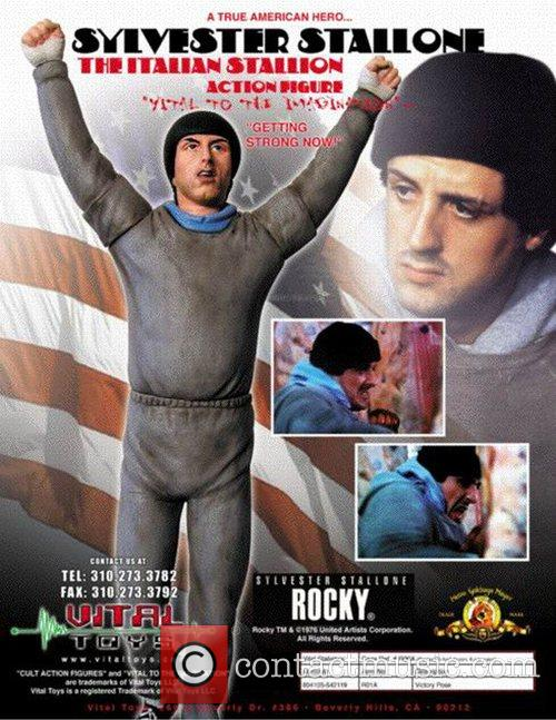 Sylvester Stallone Doll and Sylvester Stallone 3