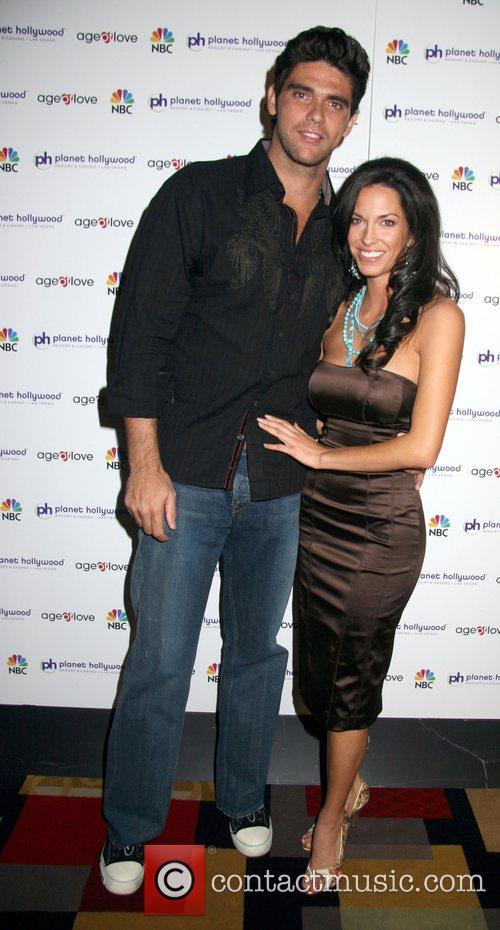 Mark Philippoussis and Amanda Salinas