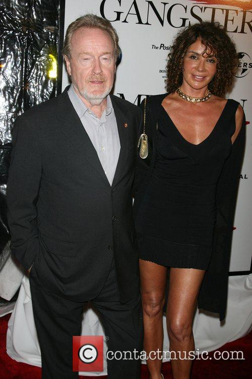 Ridley Scott and Wife